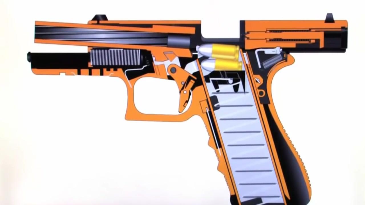 شاهد كيف تعمل الأسلحة - المسدس - القناص - السلاح الألى