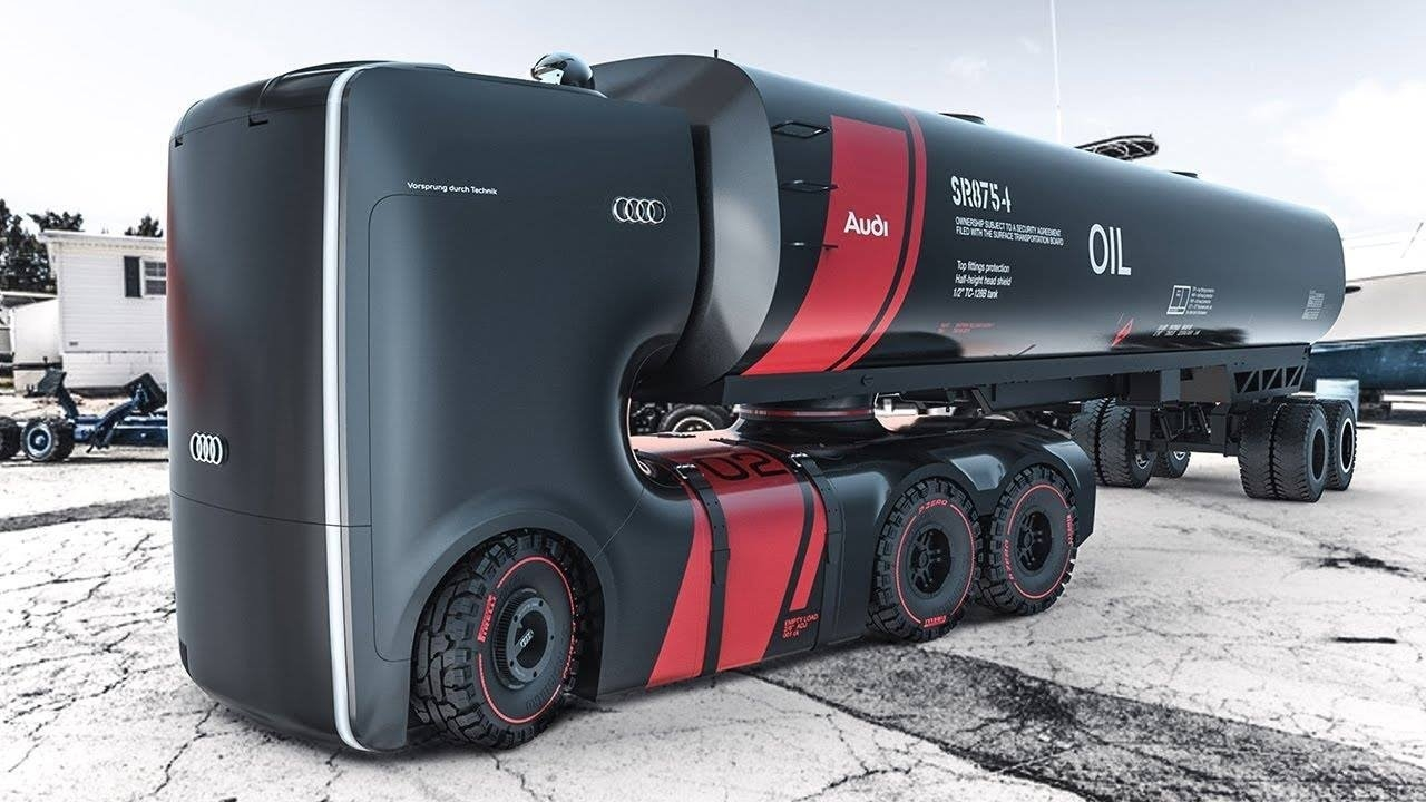 شاحنة أودي المستقبلية الألمانية الخارقة الرائعة فكرة التصميم