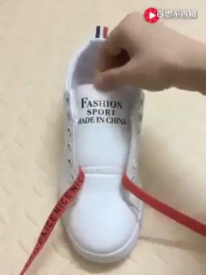 طرق مختلفة و جميلة لربط الحذاء
