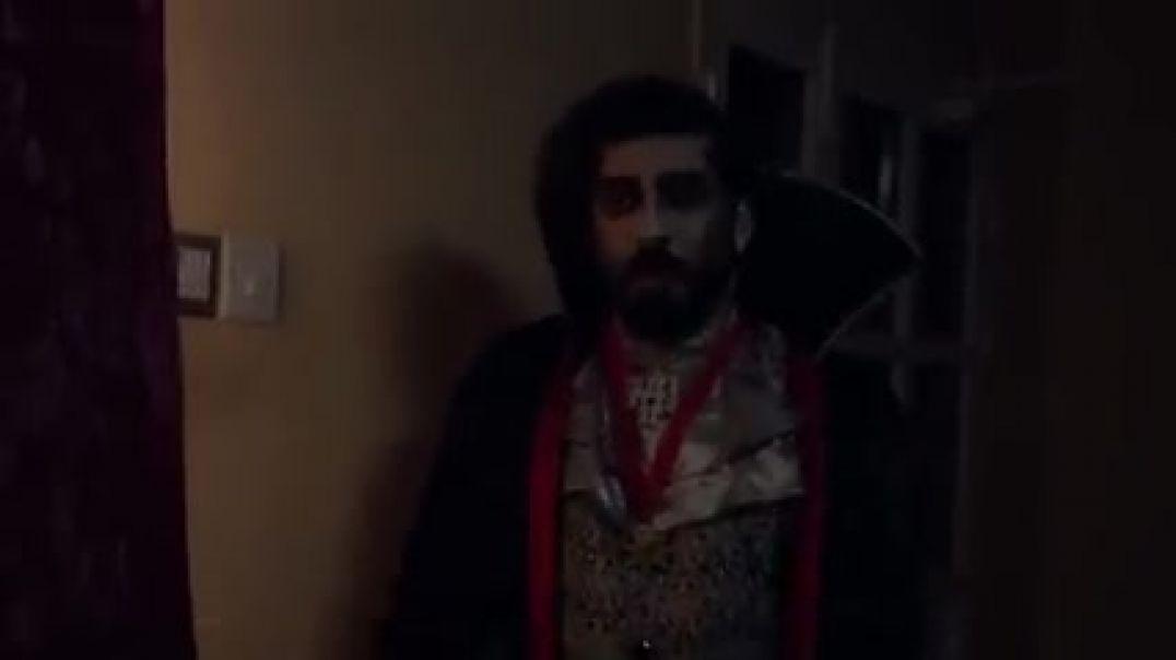 العم ناجي_مع مصاص الدماء دركولا هههههههه