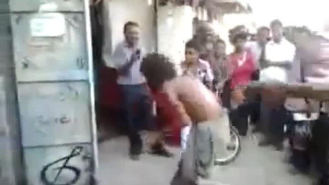 مجنون يرقص رررووعه