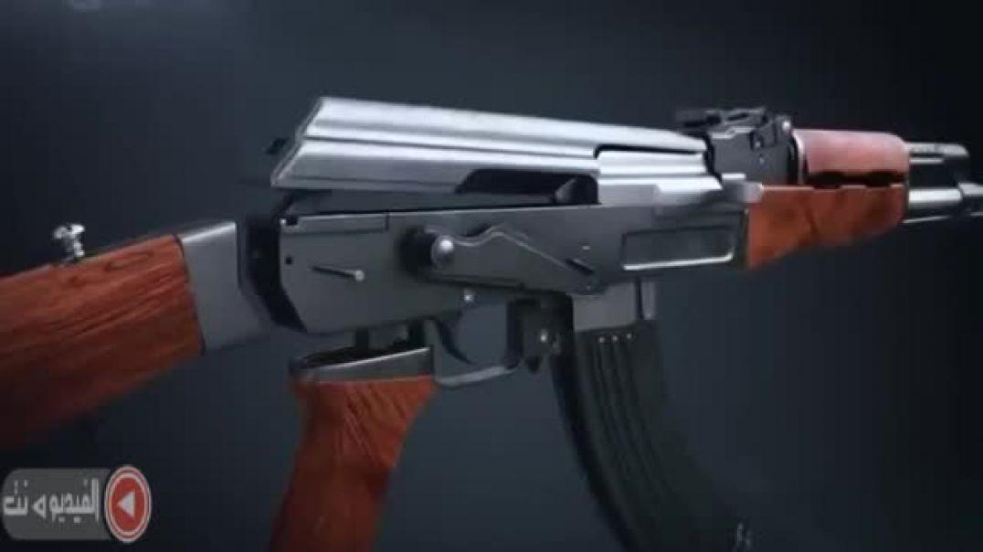 شاهد كيفيه تفكيك السلاح واستعماله