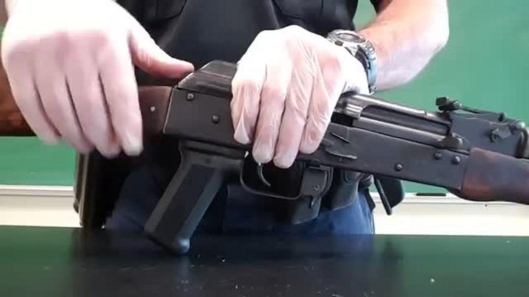 شاهد كيفيه تفكيك السلاح وتركيبه