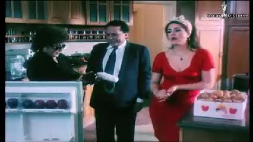 """كوميديا عادل إمام في المطبخ مع وفاء عامر """""""