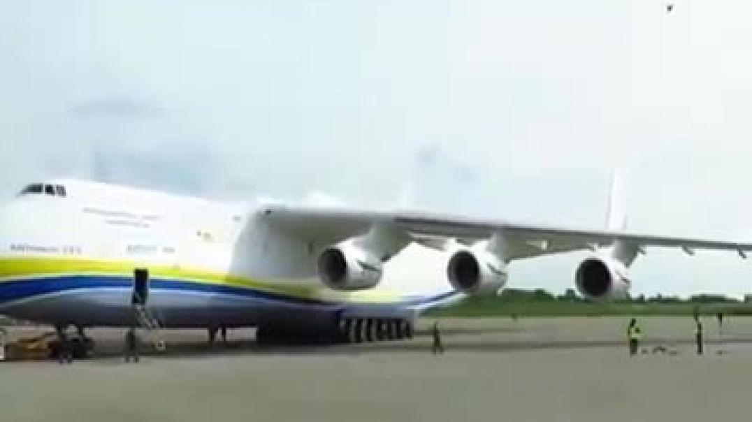 أكبر طائرة في العالم مذهل جدآ