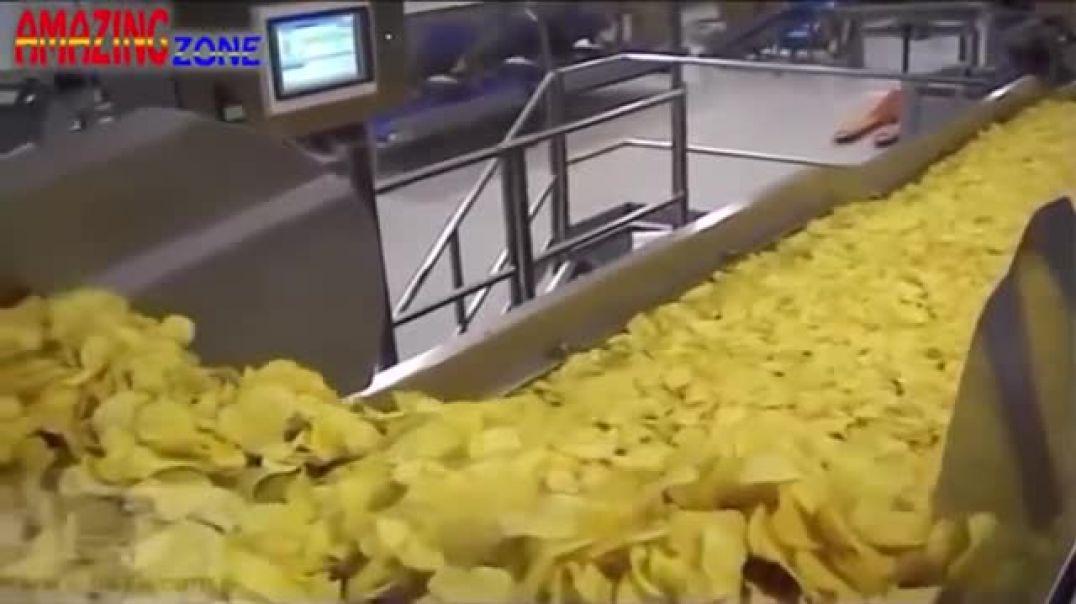 طريقة عمل الشيبسي HD - جولة داخل مصنع الشيبسي | مصانع عملاقة 2019