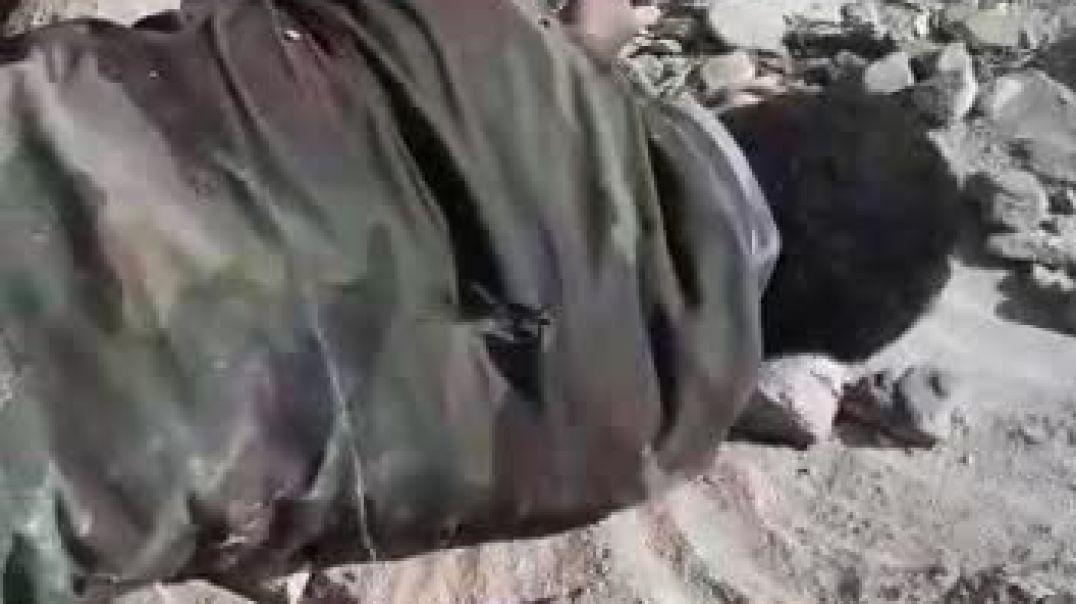 شاهد اشتباكت و مقتل اثنين حوثه في حدود السعوديه