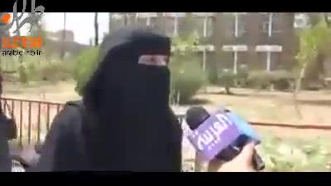 مقابله العربية معا بنت يمنية صنعانية وتتكلم علا :الرئيس عبده ربه