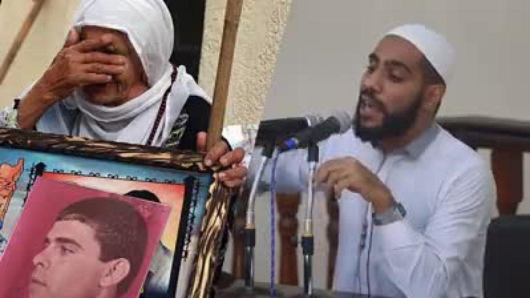 الداعيه الفلسطيني الشيخ محمود الحسنات يتكلم عن الظلم