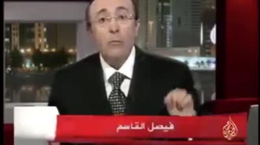 الدكتور فيصل القاسم يتحدث عن الفيروس في عام 2009