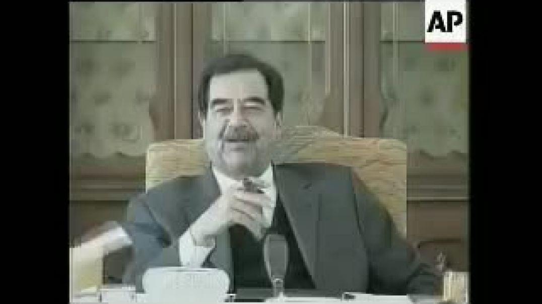 خطاب قديم لي الرئيس صدام حسين علا فيروس كورونا