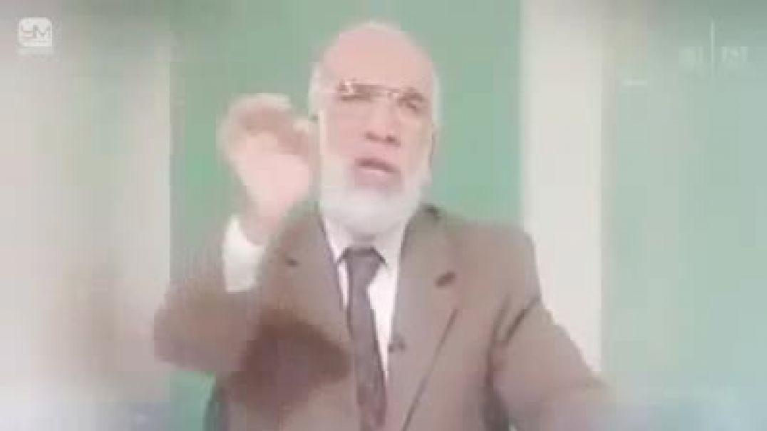 الدكتور عمر عبد الكافي يؤئتى با انعم أهل الأرض ولكنه متقئ الله وصبر