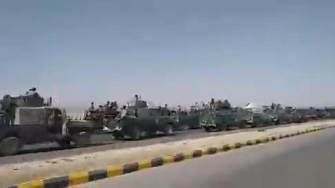 قوات الأمن المركزي في مارب تعزز محافظة الجوف اليمنية