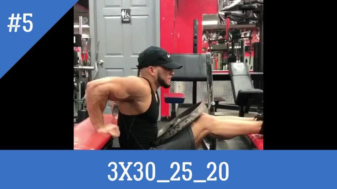 تمارين الترايسبس ونحتها كمال الاجسام | ???? Triceps Workout ????
