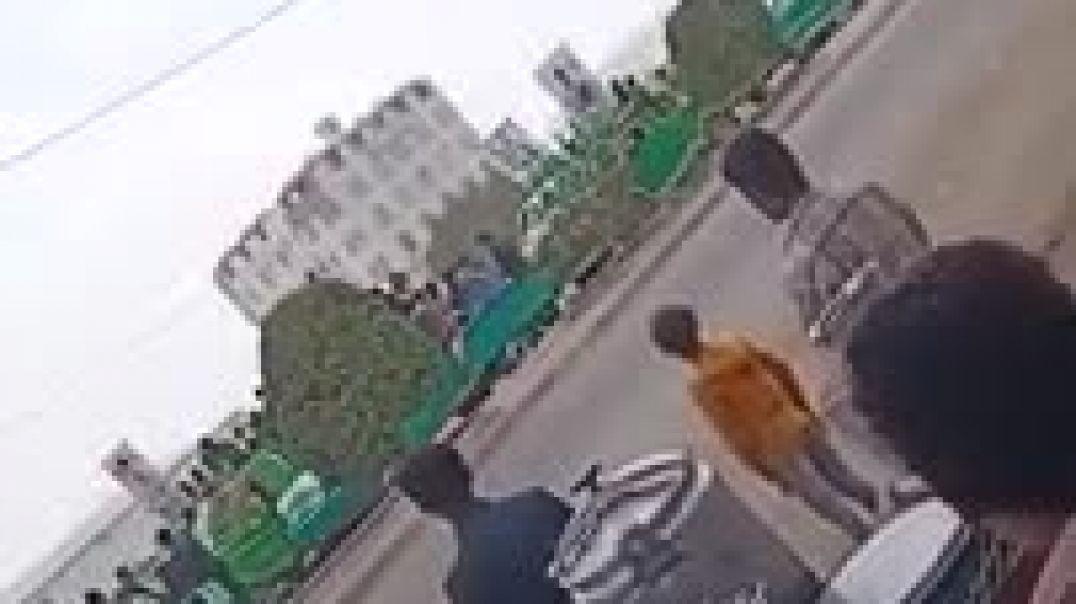 شاهد موكب تشيع الحوثين عند رجوعهم من مارب