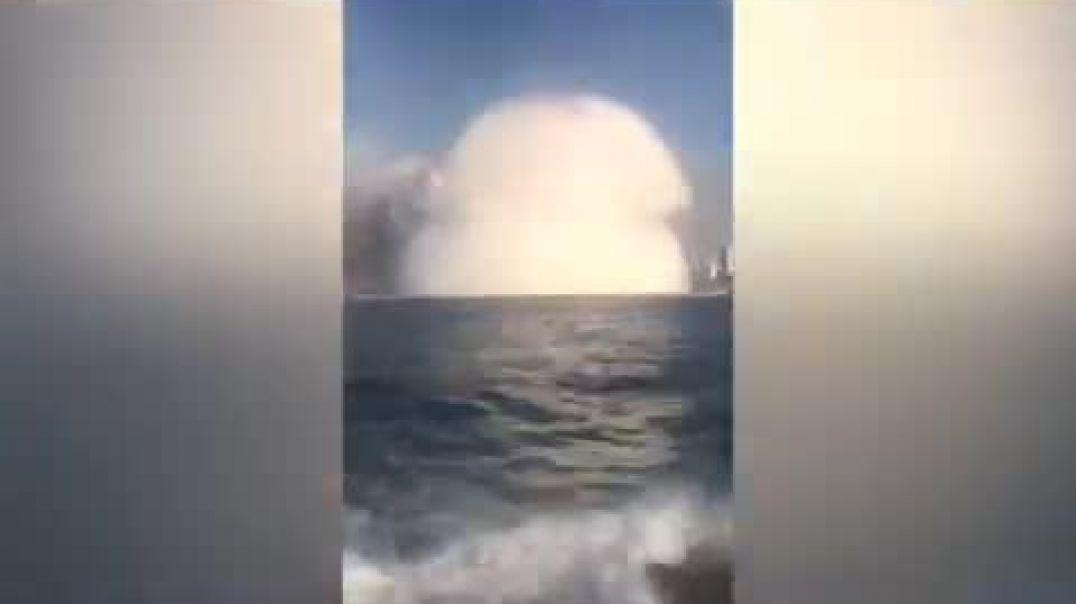شاهد اقوا انفجار في لبنان